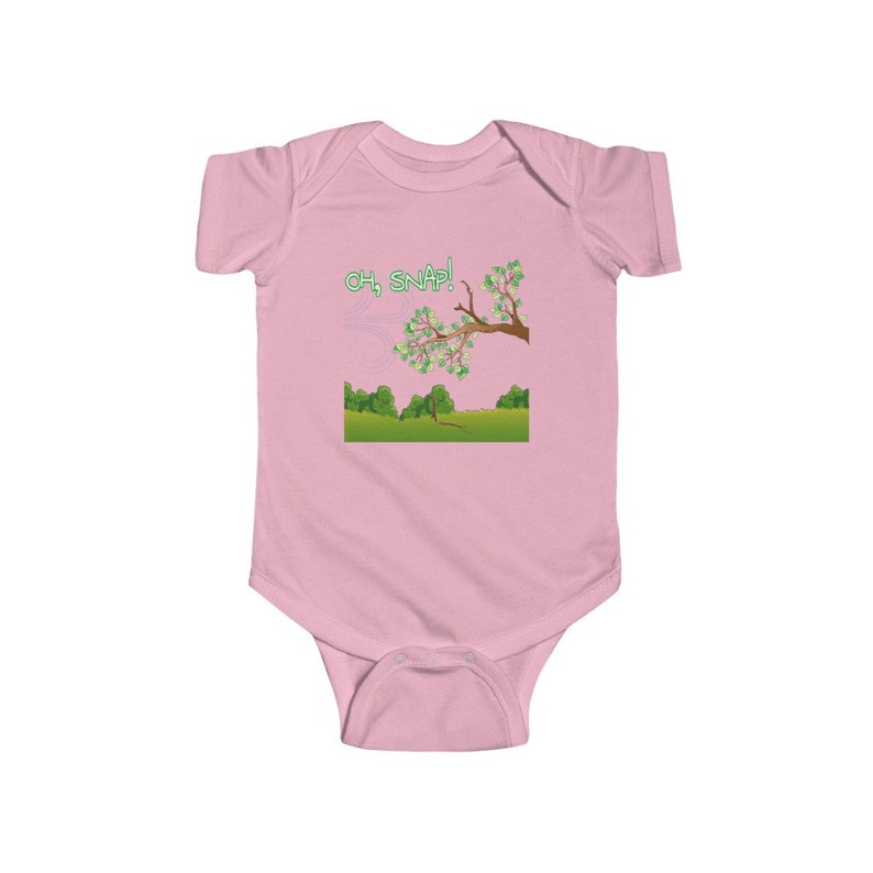 Infant Fine Jersey Bodysuit Cute baby clothes onesie SNAP Baby clothes OH
