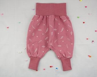 Kids Pump Pants Baby Muslin Pants