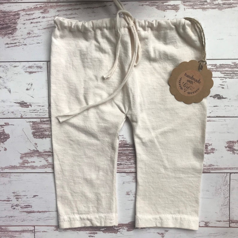 424 Newborn Christmas Photography Props Antiqued Baby Girls Boys Pants Hat  Upcycled Clothing Outfits Pictures Jingle Bells Rustic Neutral