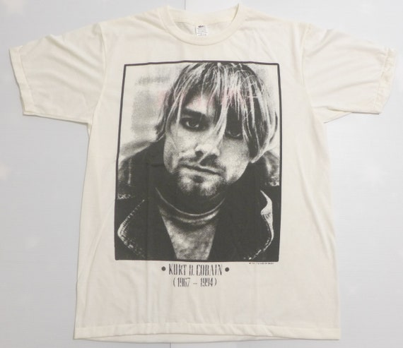 Kurt Cobain vinrage band t-shirt