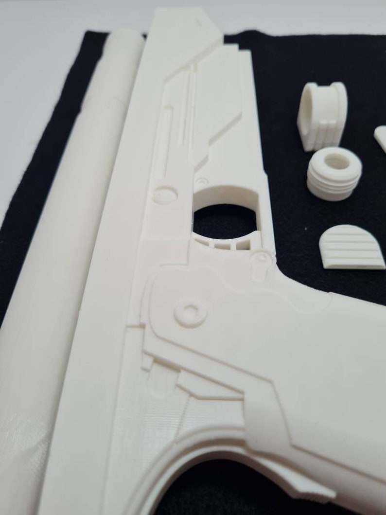 Westar 35 Blaster 3d printed raw kit Star Wars * Mandalorian Bo Katan