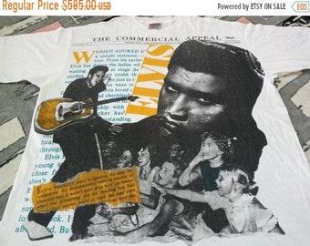 Vintage Elvis Presley singer 90s t shirt