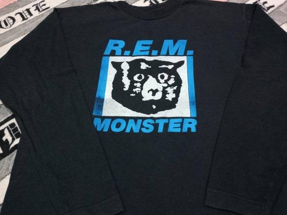 Vintage Rem monster band 90s long sleeve t-shirt