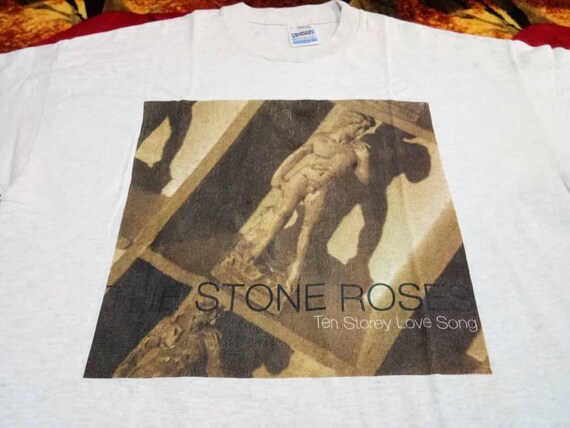 Vintage The Stone Roses ten story love song band 9