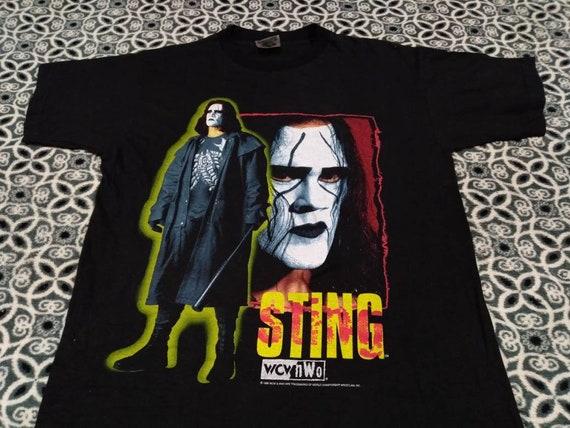 Vintage Sting wwe wrestling 90 s men's t shirt