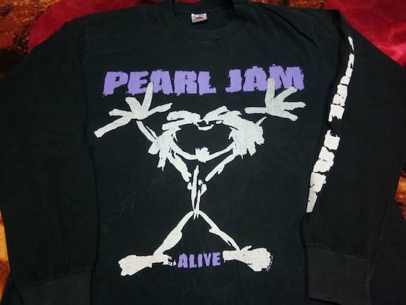 Vintage Pearl jam band 90s men's t-shirt