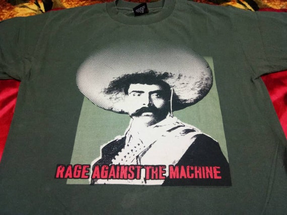 Vintage Rage Against the machine band 90s t shirt