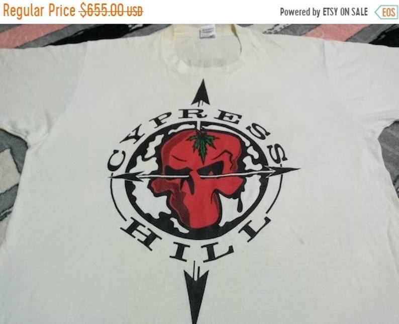 Vintage Cypress Hill rap tees hip hop music 90s men's t image 1