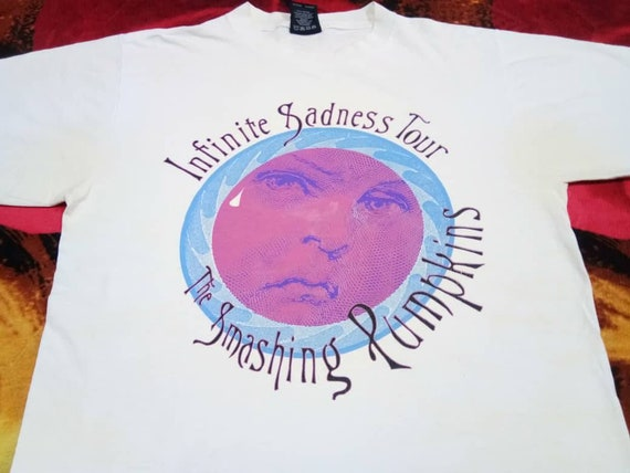Vintage The Smashing Pumpkins band 90s t shirt