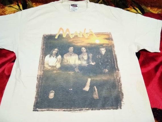 Vintage Mana band 90s men's t shirt
