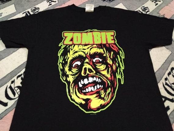Vintage Rob Zombie band movie promo 90s men's t sh