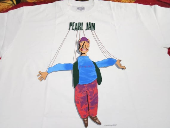 Vintage Pearl Jam band 90s t shirt