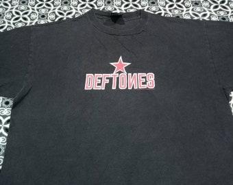 Vintage Deftones music concert band t shirt