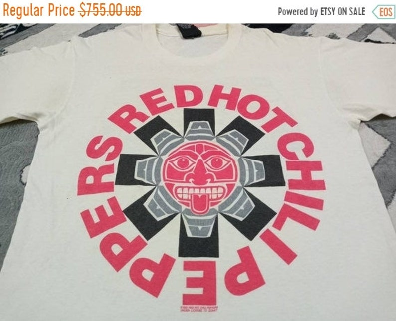 Vintage Red Hot Chilli pepper 90s band t shirt image 1