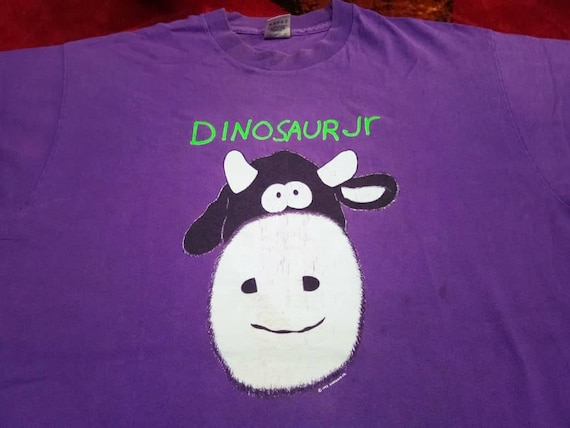 Vintage Dinosaur Jr band 90s music concert men's t