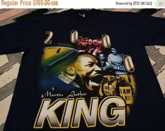 Vintage Martin Luther King black leader t shirt