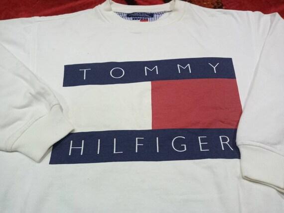 Vintage Tommy Hilfiger big flag sweatshirt