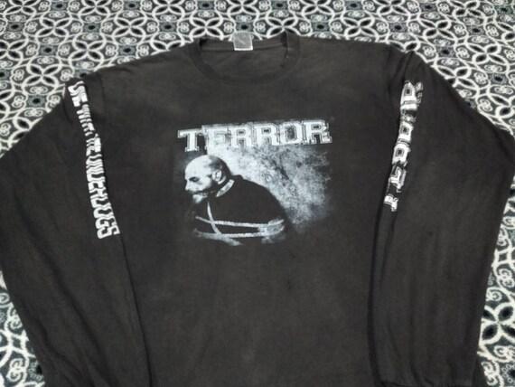Vintage Terror band long sleeve tour t shirt