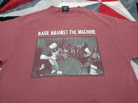 Vintage Rage Against the machine band t shirt