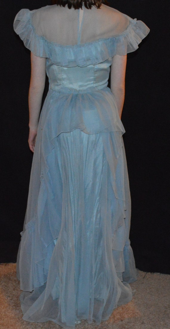 Vintage. 1900's Formal Party Dress, with - image 3