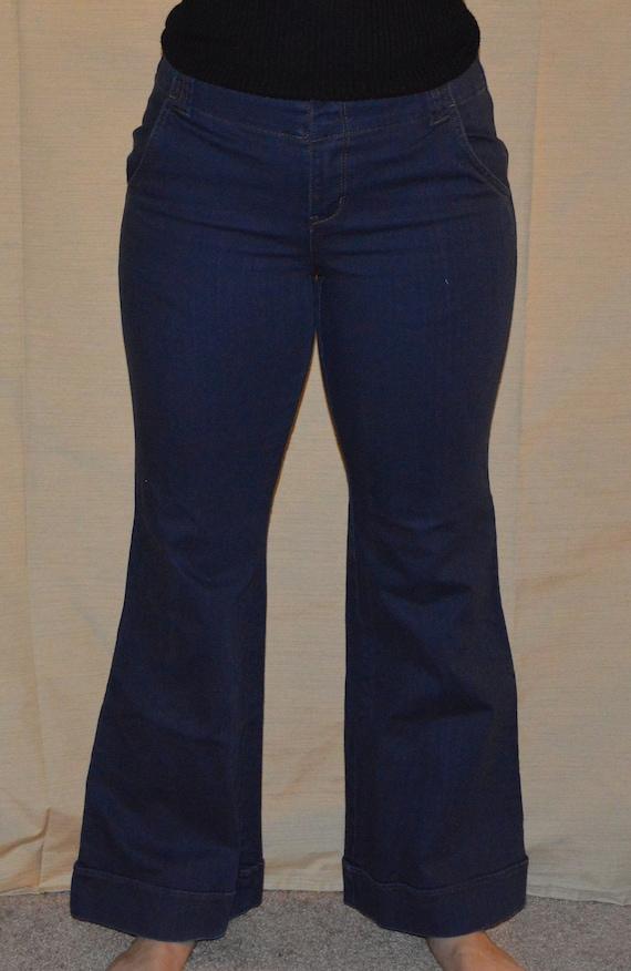 Vintage 1970's Bell Bottom Jeans