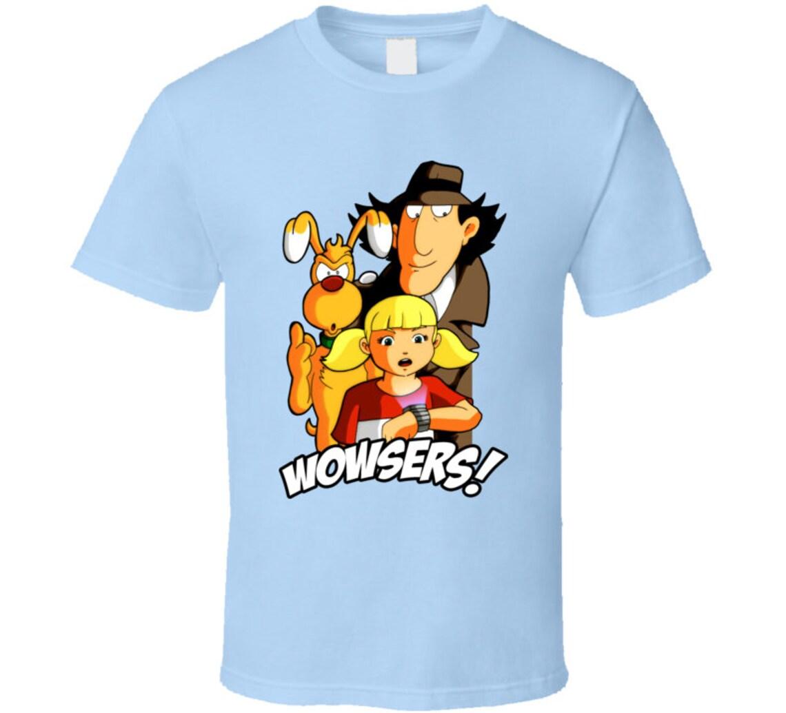Inspector Gadget Penny Brain T Shirt | Etsy