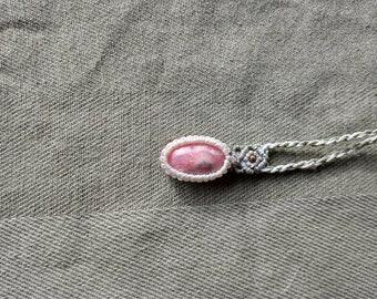 Natural pink Rhodonite cabochon,40x40mm,123.80cts....#6181
