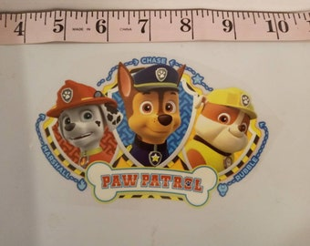 "3.2/""x3.9/"" PAW Patrol Skye Cute Cartoon Character Embroidered Patch Iron On SIZE"