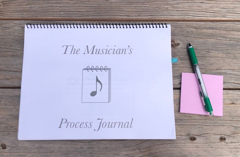 The Musician's Process Journal image 1