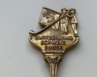 Vintage Spoon Trummelbach Switzerland Souvenir