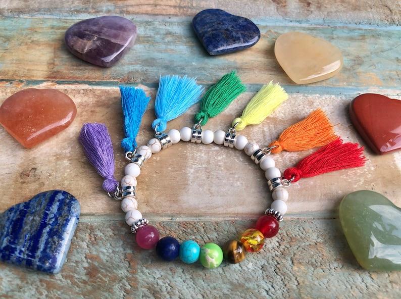 Tassels Chakra Bracelet