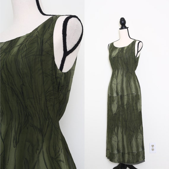 Elegant Green Dress