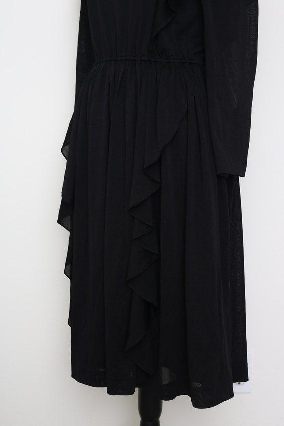 Romantic Black Dress - image 7