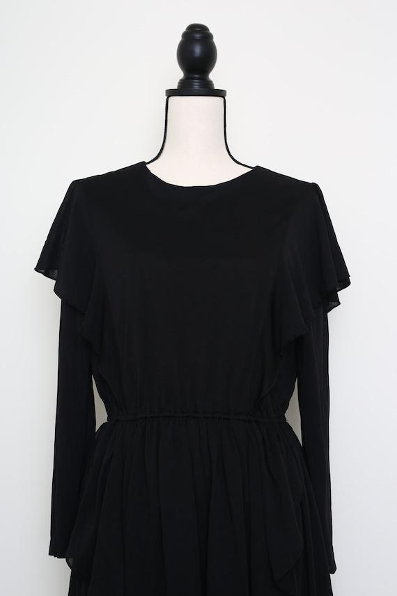 Romantic Black Dress - image 5