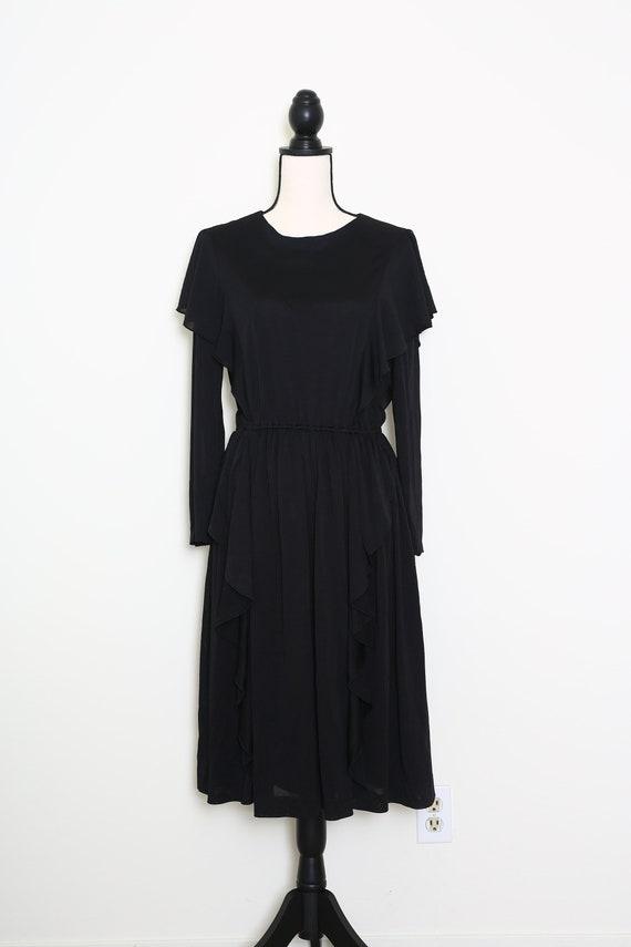 Romantic Black Dress - image 2