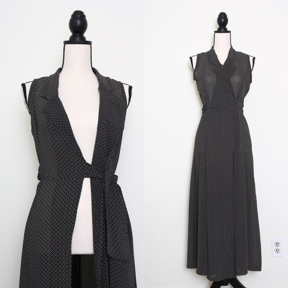 Longline Wrap Dress