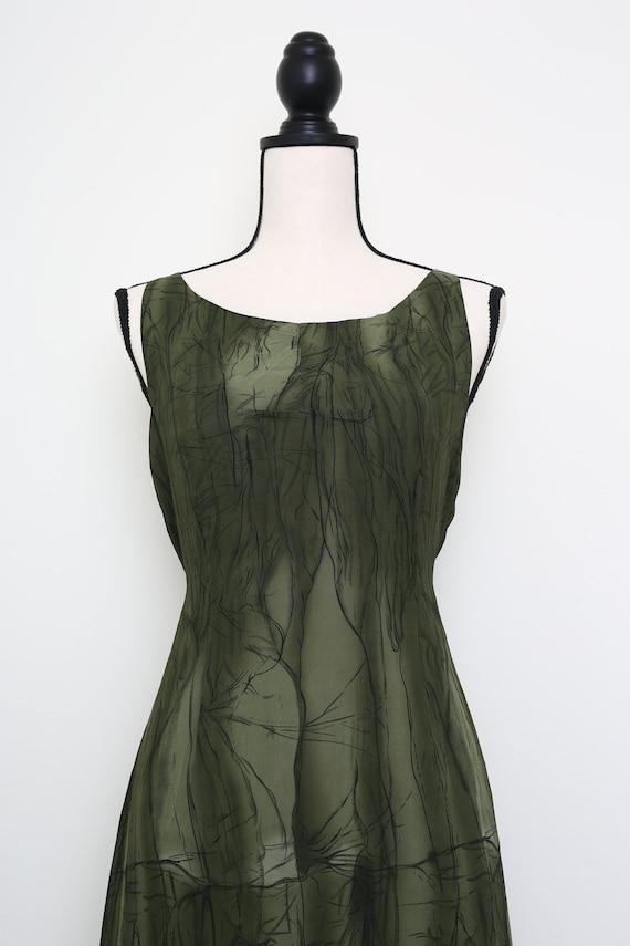 Elegant Green Dress - image 5