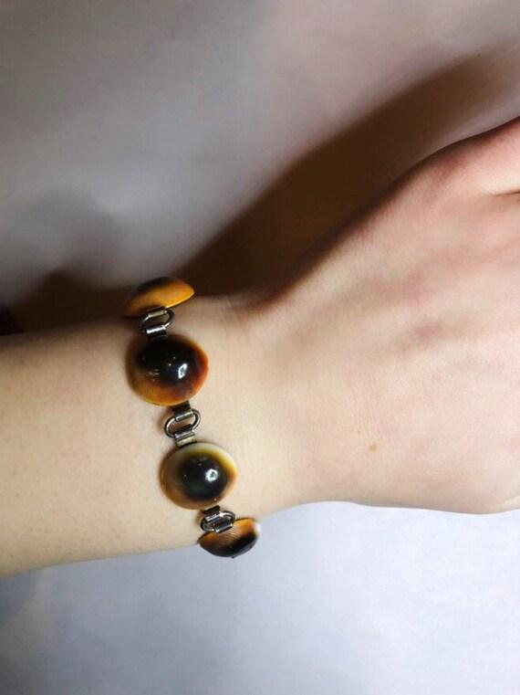 Operculum Shell Bracelet! 1940s!