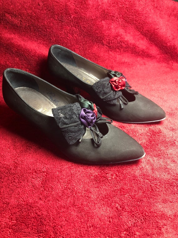 Vintage, Petra Brand, Italian, Ladies Leather Shoe