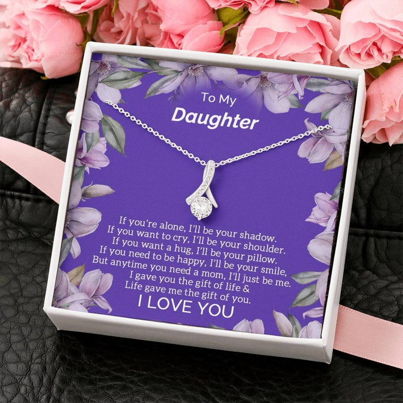 gift for daughter becoming a teenager gift from mother gift for daughter distance-gift from mom Necklace gift for daughter 21st birthday
