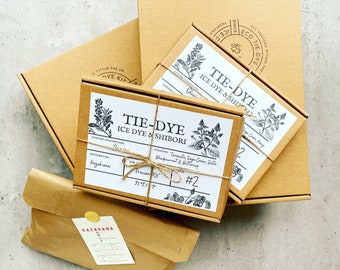 Personalised Ice-Dye Kit | Vegan & Soil Friendly | Procion MX Fibre Reactive Dye | DIY Home Craft, Fabric Dye for Adults And Teens