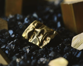 The Judge - Premium Solid Brass MATT Finish Keycap for Cherry MX switches / Mechanical Keyboard / Artisan Gold Key Gothic Metal Collectible