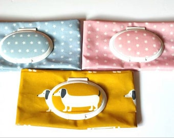 Baby wipes case, Baby wipes holder, Oilcloth case, Baby bag, Baby changing,Gift for new mum, anti bacteria wipes case