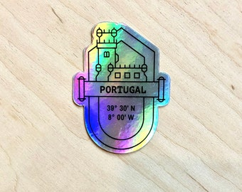 Holographic Sticker - Portugal
