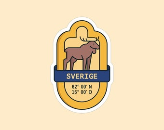 Sticker Sweden