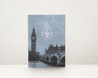 Travel diary London – with travel planner, bucket list, data graphics and travelchallenges as a gift or to write yourself