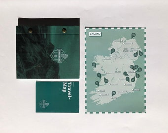 Travel Diary Ireland – with travel planner, bucket list, data graphics and travelchallenges as a gift or to write yourself