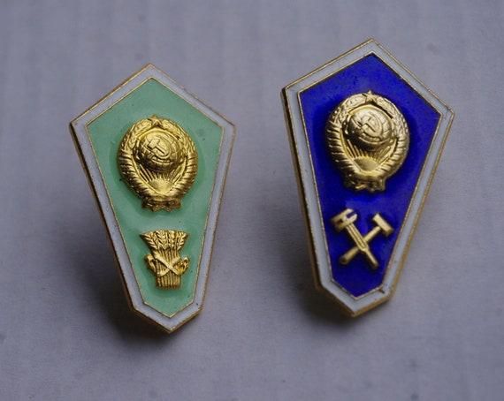 1 badge - Badge of the USSR - Technical School gra