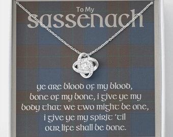 Outlander Gifts, Sassenach, Outlander Jewelry, My Sassenach, Celtic Love Knot