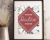 Spanish Home Décor, Hogar Dulce Hogar, Printable Quote, Hall Decor, Spanish Prints, Spanish Quote, Typography Art Print, Instant Download↓↓↓